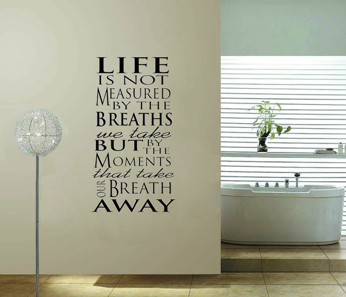Family Inspiration vinyl wall decal quote sticker - Say Quote Word Lettering Art Vinyl Sticker Decal Home Decor Words(China (Mainland))