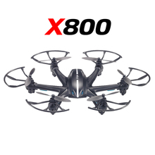 2016 Original MJX X800 RC helicopterdrone drone quadcopter 2.4G 4CH 6-axis with 3d flip roll gravity sensor Without camera