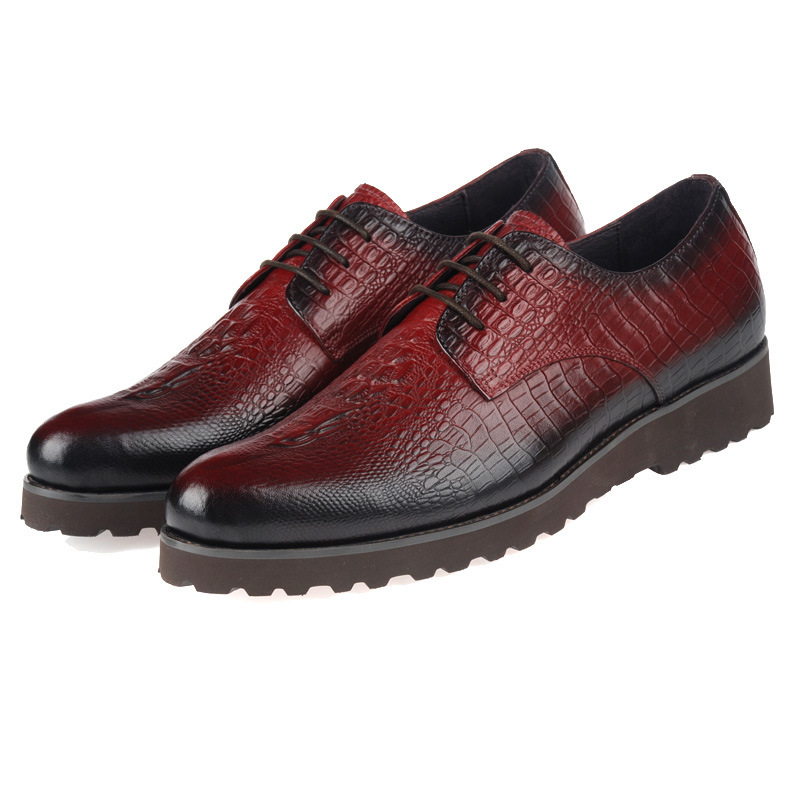 Fashion Brand 2015 Oxford Shoes Coffee/Black Man Dress Shoes Genuine Leather Round Toe Casual Shoes Mens Formal Wedding Shoes(China (Mainland))