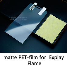 Glossy Lucent Frosted Matte Anti glare Tempered Glass Protective Film On Screen Protector For Explay Flame