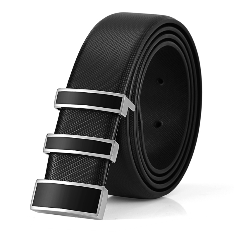 2017new brand mens belts Fashion Luxury Belts For Man smooth Buckle Strap Male Original Casual Jeans Belt Leather Ceinture Homme(China (Mainland))