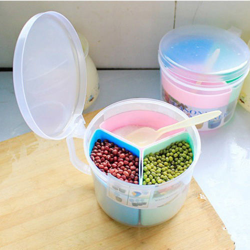 Colorful Detachable Kitchen Spice Condiment Caster Container Box H0001290(China (Mainland))