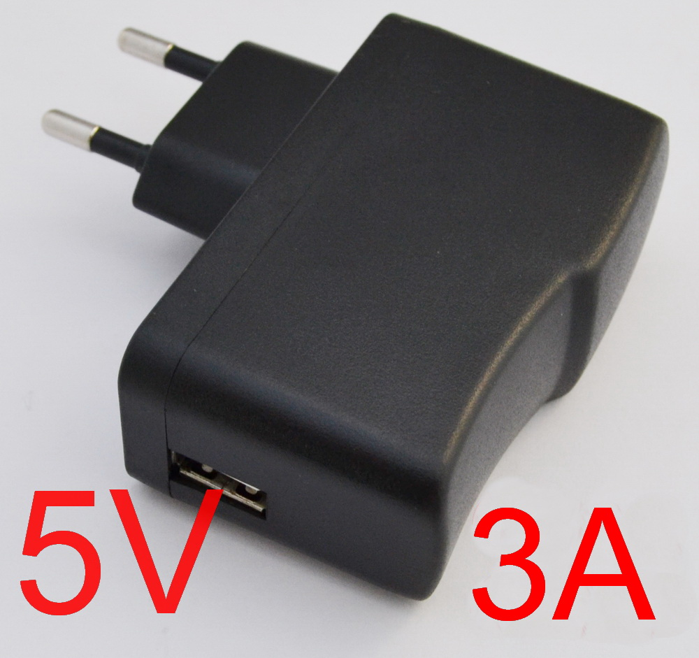 1PCS High quality IC program 5V 3A EU plug USB Charger Power Adapter with USB Charger for Tablet PC+Free shipping(China (Mainland))