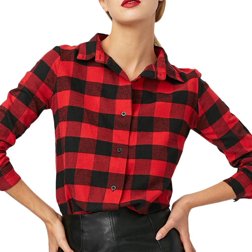 Online buy wholesale long sleeve button up shirts from for Buy plaid shirts online