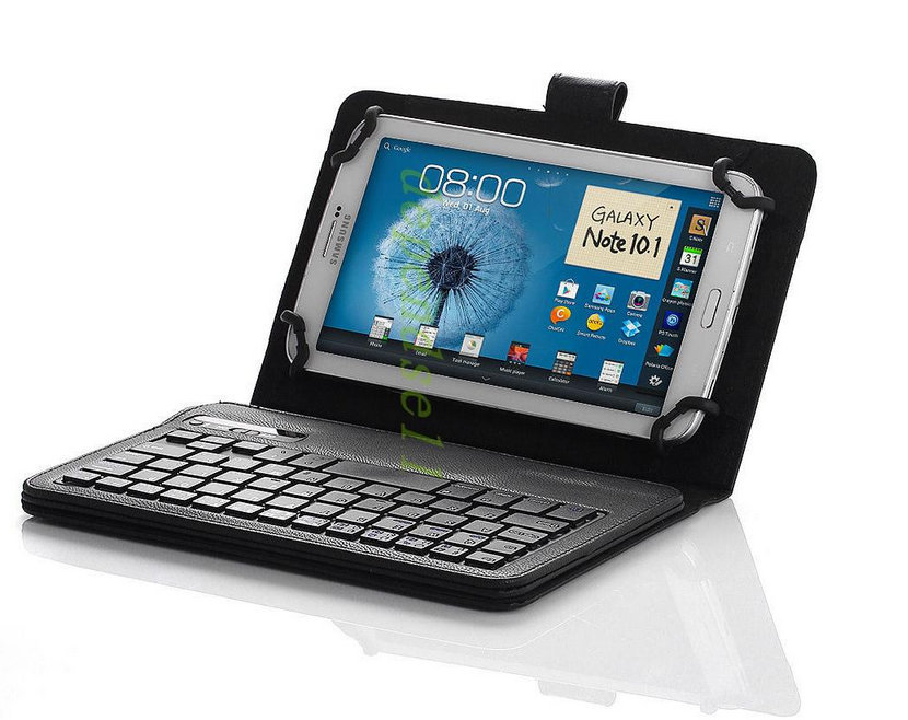 Free shipping 2 in 1 Removable Wireless Bluetooth Keyboard Case cover For HP Slate 7 Tablet(China (Mainland))