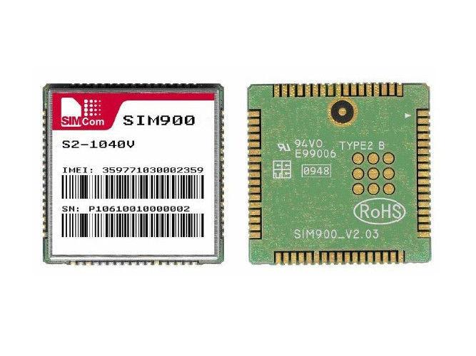 SIMCOM SIM900 Quad-band 850/900/1800/1900MHz GSM/GPRS wireless module(China (Mainland))