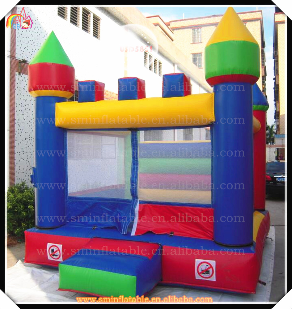 Attractive inflatable bouncer castle,kids mini jumping houses,baby bouncy for toddler(China (Mainland))