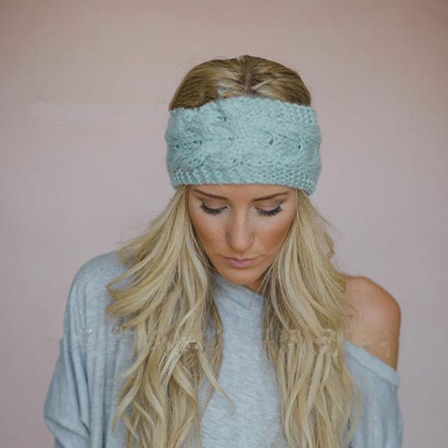 Женщины мода шляпа осень зима свободного покроя теплые вязаные шапочки 6 цветов 2 ...