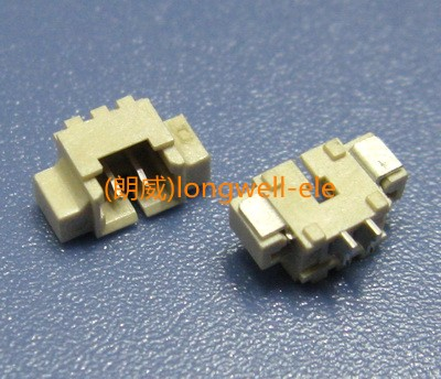 Strip-line 1.25wafer socket connector horizontal smd - 2p<br><br>Aliexpress