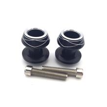Motorcycle M8 CNC Aluminum 8mm Diameter Swingarm Spools Slider Screws Suzuki Models - JM Accessories Store store