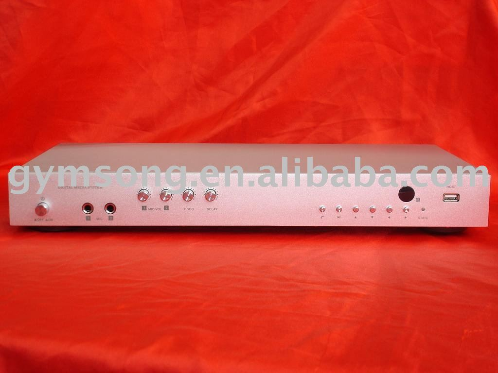 New model ,Free shipping , 1pcs/lot, Hard driver karaoke machine, Support RMVB /MP3 file/ Lyric replay(China (Mainland))