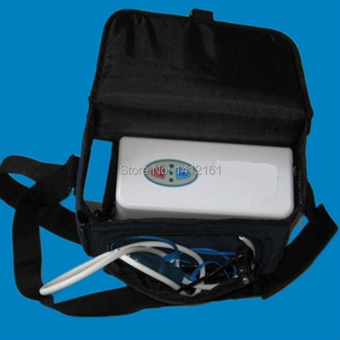 Mini Battery Oxygenerator Portable Oxygen Concentrator Generator + car inverter + carry bag(China (Mainland))
