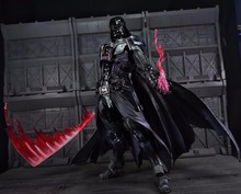 Play Arts Kai Darth Vader Star War Black Knight Imperial Stormtrooper Luke 27cm PVC Action Figure Doll Toys Kids Gift