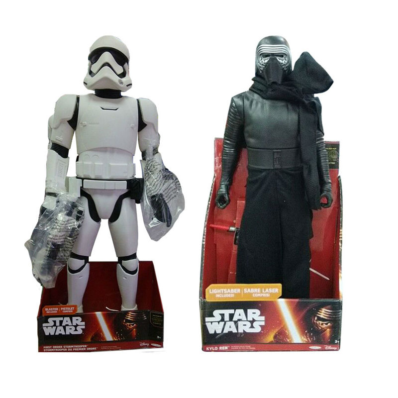 Anime Movie Star Wars PVC Action Figure Imperial Stormtrooper Darth Vader Figure Doll Collectible Model Toy 46cm/79cm Brinquedos<br><br>Aliexpress