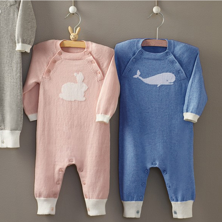 New 2015 Spring Autumn Infant baby wool Rompers Soft baby Sweater one-piece clothing<br><br>Aliexpress