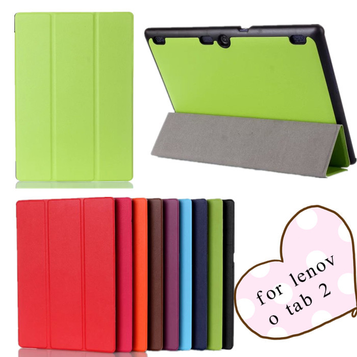 Tab 2 A10 70F case Ultra thin Smart Stand leather case for Lenovo Tab 2 A10