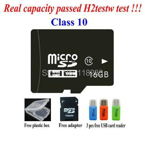free shipping Real capacity memory card 2G 4G 8GB class 4 16GB 32GB 64GB class 10