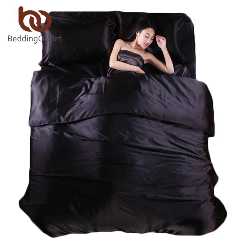 commentaires noir satin couette faire des achats en ligne commentaires noir satin couette sur. Black Bedroom Furniture Sets. Home Design Ideas