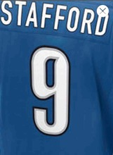 Embroidery Logos Men's #9 Matthew Stafford #20 Barry Sanders Adult Rush Limited Stafford Sanders Embroidery Free Shipping(China (Mainland))