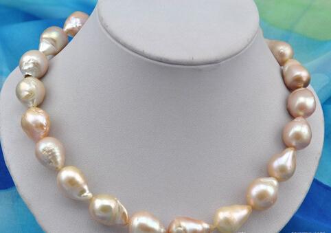 bjc 0002449 baroque pink reborn keshi pearl necklace (C0309)<br><br>Aliexpress