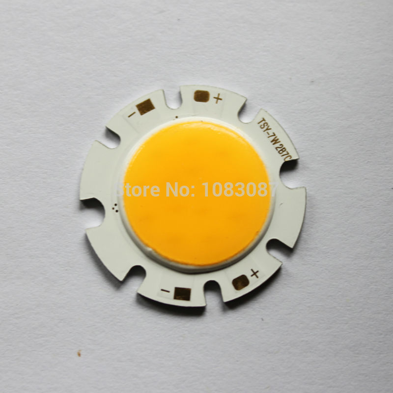 Free Shipping   Hot sale!!! 7W COB surface light source ,28mm diameter ,14pcs led chips  genuine High Brightness Taiwan  chip<br><br>Aliexpress