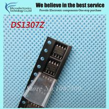10pcs free shipping DS1307Z DS1307 SOP-8 Real Time Clock 64x8 Serial I2C RTC new original (China (Mainland))
