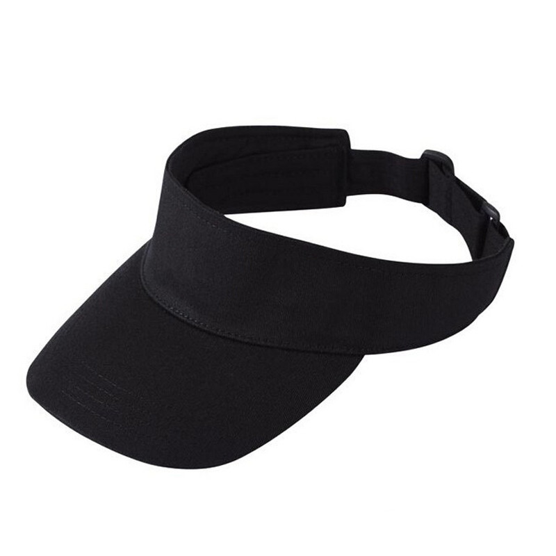 New Promotion Adult Unisex Men Woman Open Top Baseball Visors Hats Adjustable Breathable Male Famale Outdoor Cap Women Sun Hat(China (Mainland))