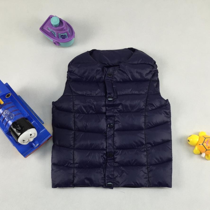Boys waistcoat baby children autumn winter fashion candy color vest sports leisure jacket boys/girls comfortable coats retail(China (Mainland))