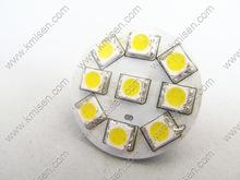 Highlight LEDG9 G4Cree factory wholesale Epistar chip 9PCS  LED energy saving lamp car lighting chip(China (Mainland))