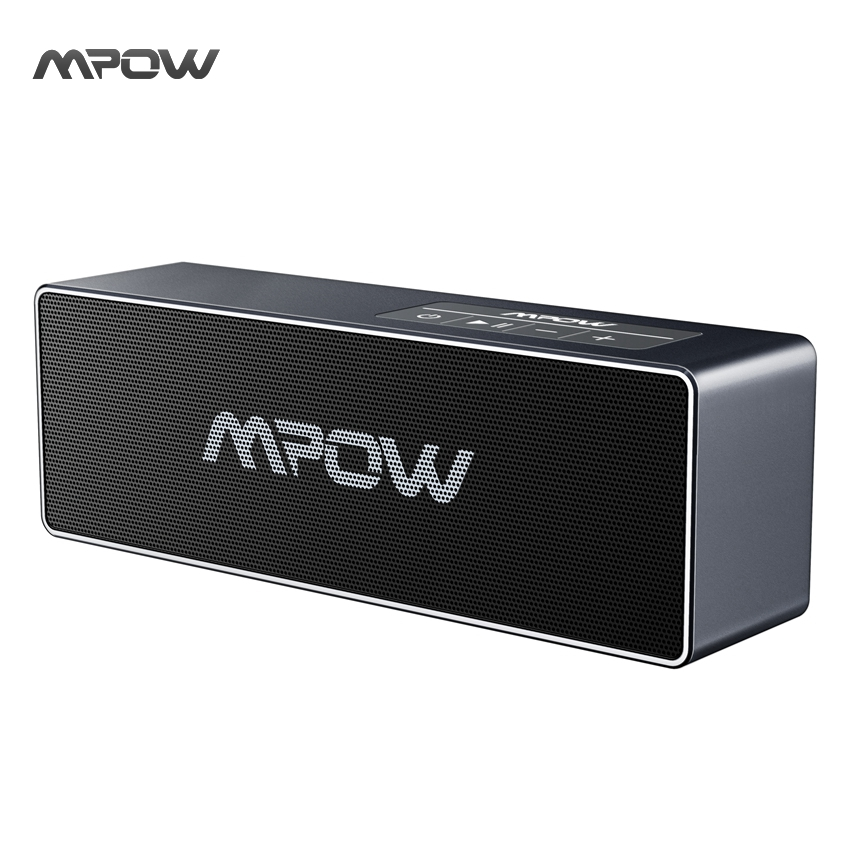 Mpow Bluetooth Speaker Portable Wireless 20W Output Enhanced Bass Speaker with Hand-free Calling 3.5mm Audio for iPhone Samsung(China (Mainland))