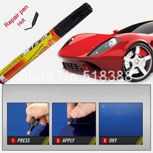 Hot Selling Fix It Pro Clear Car Scratch Repair Pen Simoniz Clear Coat Applicator Car Styling Paint(China (Mainland))