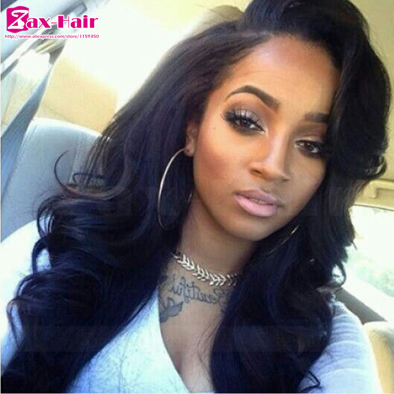 Фотография glueless full lace wigs wavy peruvian virgin brazilian lace front wigs bleached knots baby hair customized natural hairline hot