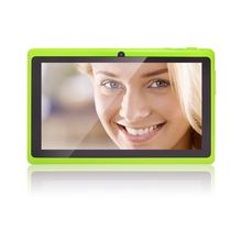 7 inch Android Google Tablet PC 4.4 8GB WiFi Q88 Quad core Dual Camera HD Capacitive Touch Screen Allwinner A33 DDR3 1.3GHz 1GB