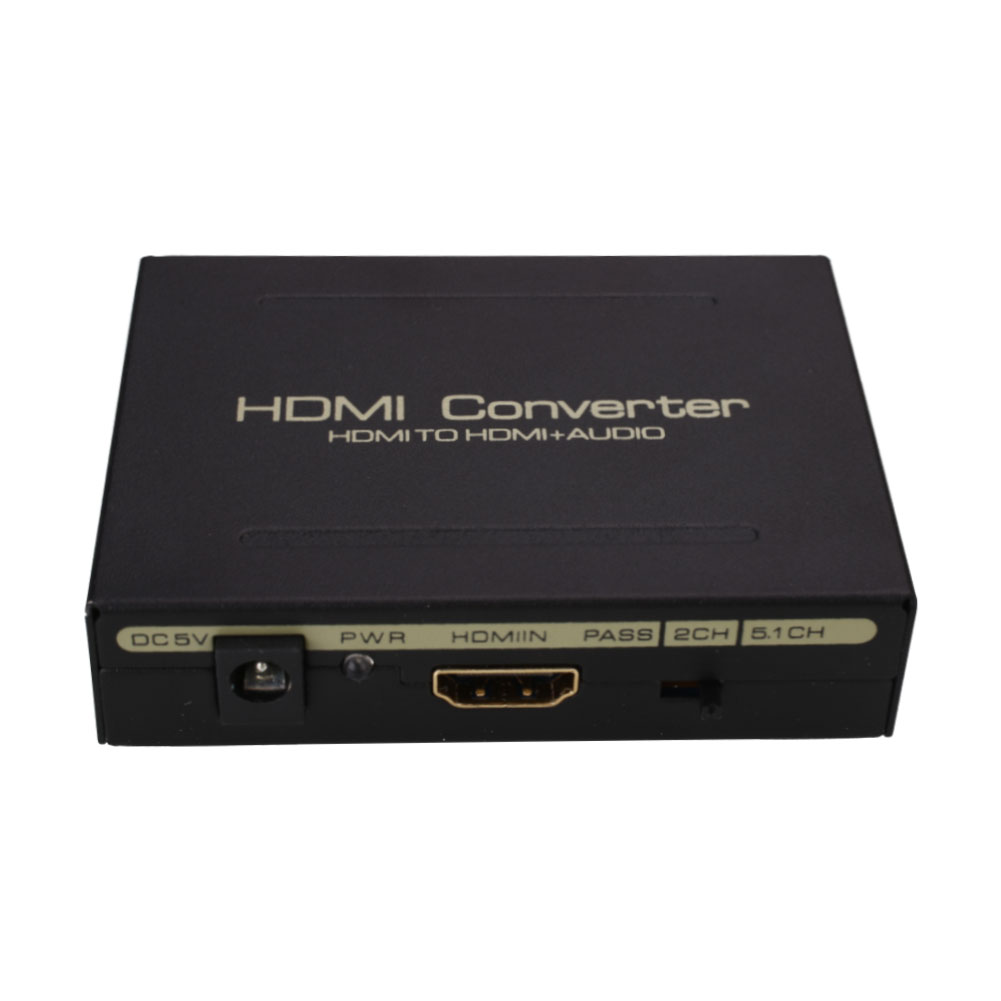 1080P HDMI to HDMI Optical + SPDIF + L/R Extractor Audio Splitter US Adapter(China (Mainland))