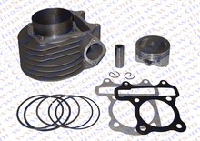 Performance GY6 59mm Cylinder Piston Ring Kit (Big bore Kit) Change 125CC to 158CC Kazuma Jonway ATV Quad Scoote Buggy
