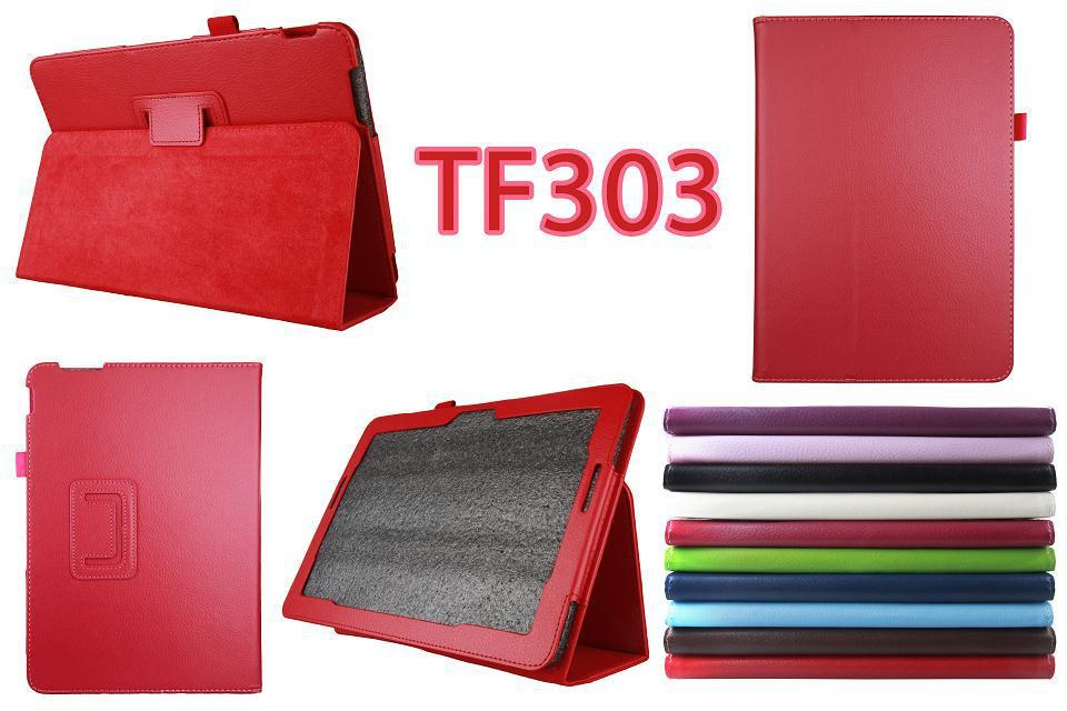 Leather smart stand cover case For ASUS Transformer Pad TF303CL TF303 10.1 inch tablet case(China (Mainland))