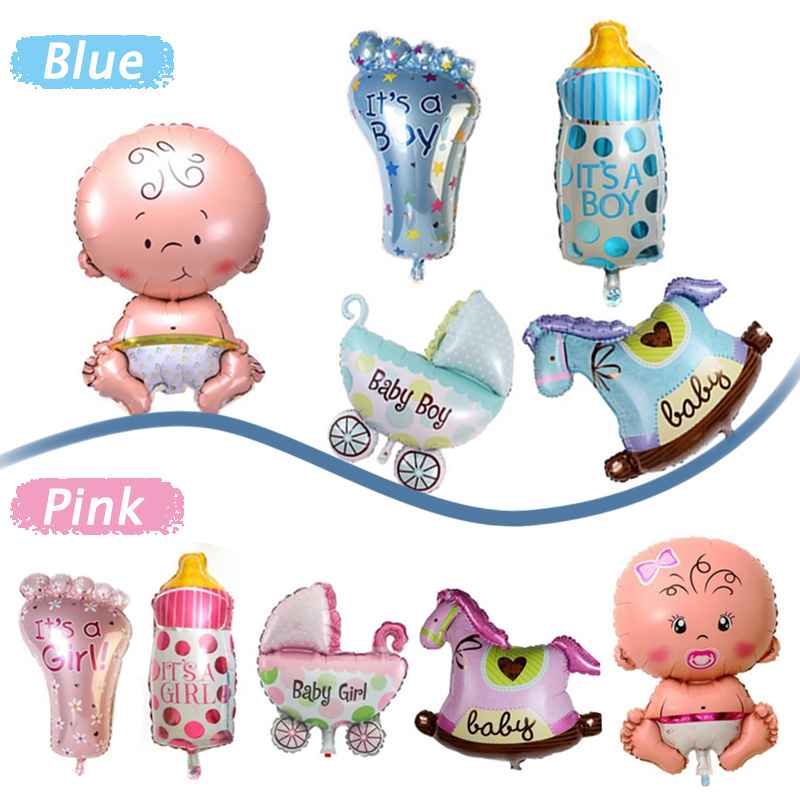 5pcs set children baby shower boy girl kids party for Baby boy birthday party decoration