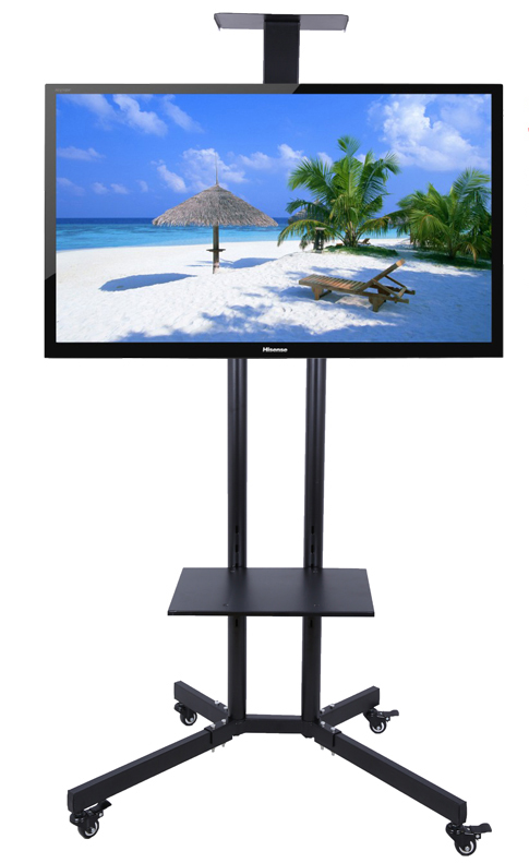 32-60 inch LCD LED Plasma TV Mount Floor Display Stand Carts/Trolley With DVD Holder And Camera Holder(China (Mainland))