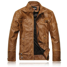 New arrive brand motorcycle leather jackets men ,men's leather jacket, jaqueta de couro masculina,mens leather jackets,men coats(China (Mainland))