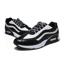 2016 Autumn Korean Version Of The Trend Men's Fashion Casual Shoes Comfortable And Breathable Striped Cushion Men's Shoes