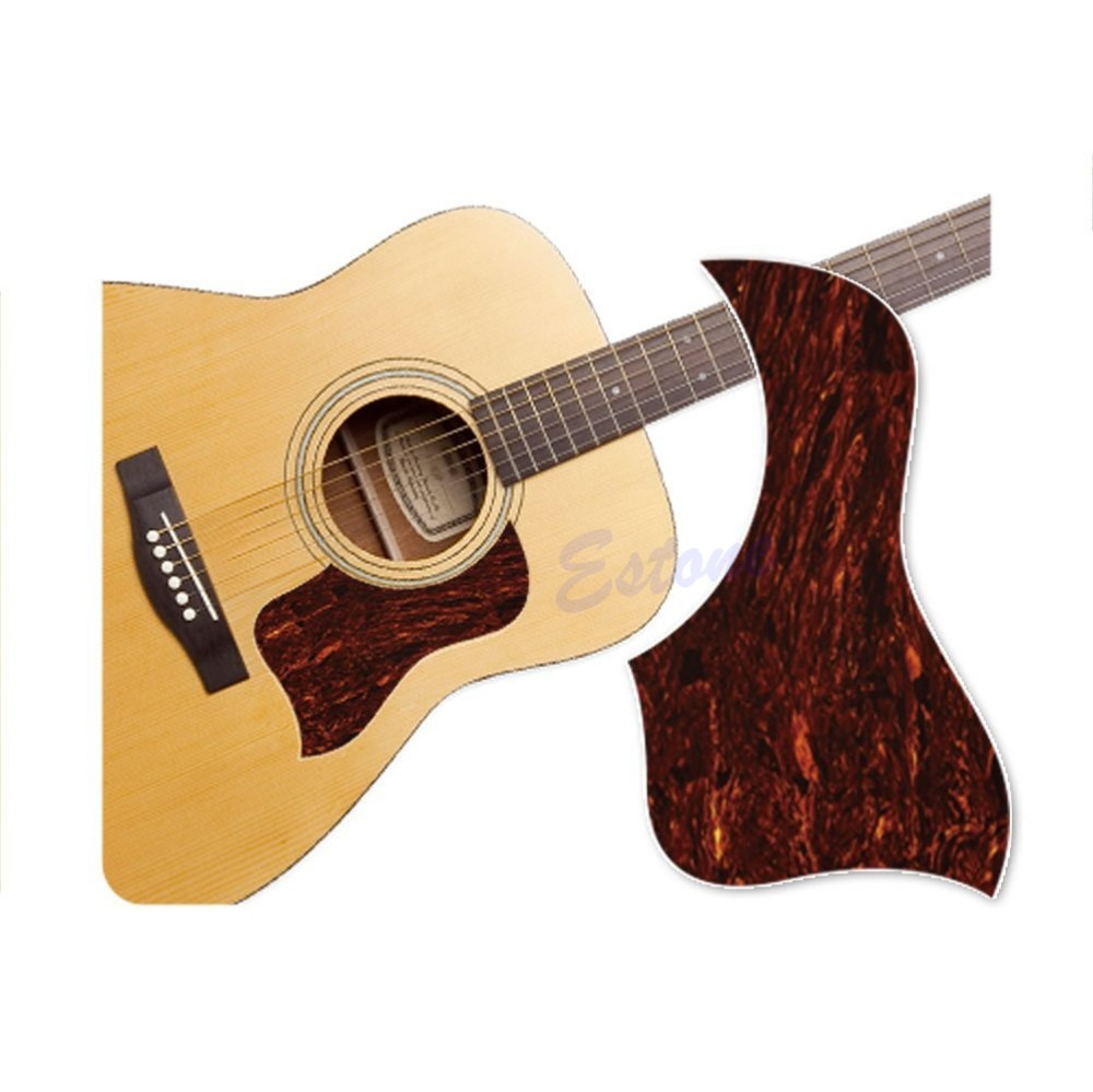 Healing Shield Acoustic Guitar Tortoise Shell Pickguard Style Marbling Protector(China (Mainland))