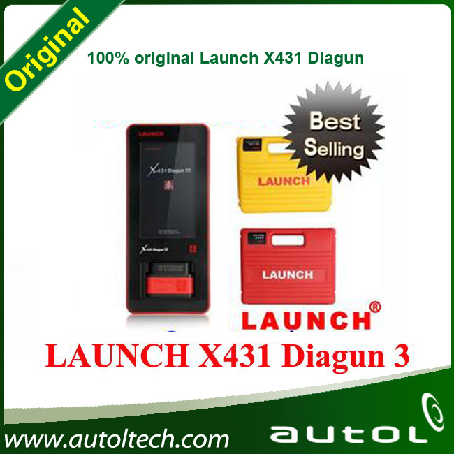 2015 wirless Bluetooth Car Diagnostic Tool Launch X431 Diagun III Global Version free Online update X-431 Diagun3(China (Mainland))