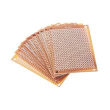Freies Verschiffen 10 Stücke Prototyp Papier Kupfer PCB Universal-Experiment Platine 5x7 cm Top Verkauf(China (Mainland))
