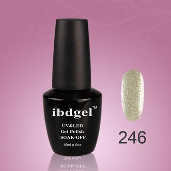 Choose 36 PCS UV gel color ibdgel nail  polish  popular 551 colors (30color gel+3top coat+3base coat)