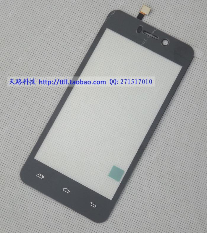 Original 4.5inch Doogee DG800 Front Panel Touch Glass Lens Digitizer Screen Black FREE SHIPPING