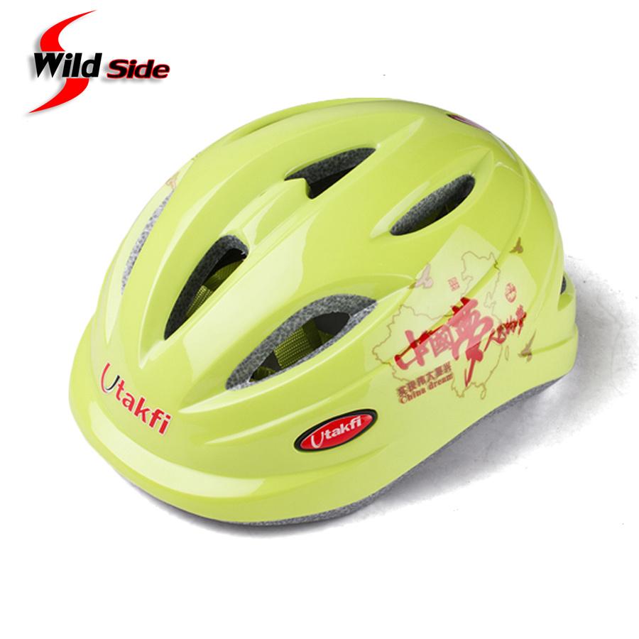 Utakfi Kids Helmet EPS+PC Ultralight 190g Child Road Cycling Helmet 9 Vents Bike Bicycle Helmets Casco Ciclismo Blue White Color(China (Mainland))