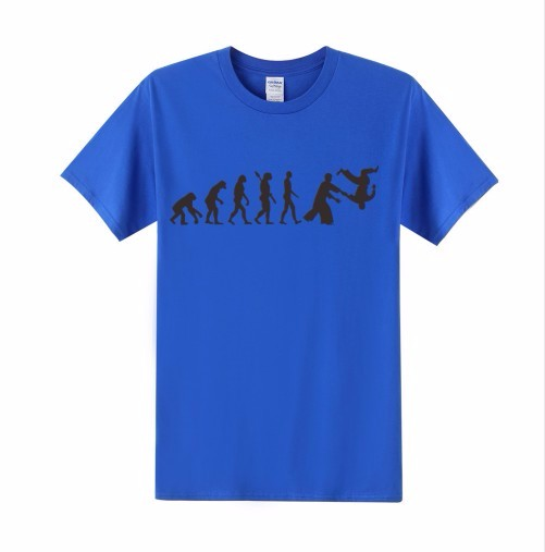 Evolution Of Aikido T-Shirt Men Women 2016 Summer Style Fashion Coll Funny Printed T Shirts Short Sleeve Casual Tshirts Tops Tee