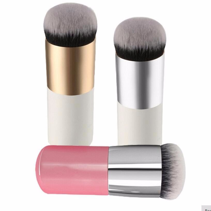 Round Makeup Brush BB Cream Concealer Foundation Powder Brushes Synthetic Fifber Face Cosmetic Blush Brush Make Up Beauty Tool(China (Mainland))
