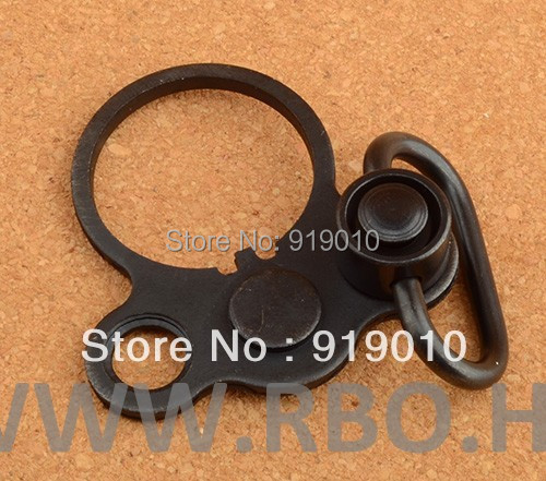 AR15 M4 Gun Sling Adapter End Plate+Quick Detach QD Sling Gun Swivel Free shipping M6719(China (Mainland))