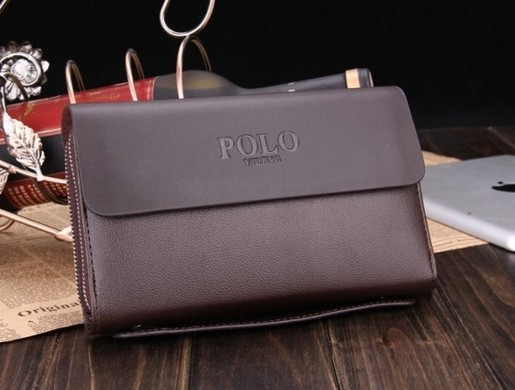 Polo paul man bag genuine leather male clutch day clutch bag wallet commercial mens lather-bag<br><br>Aliexpress